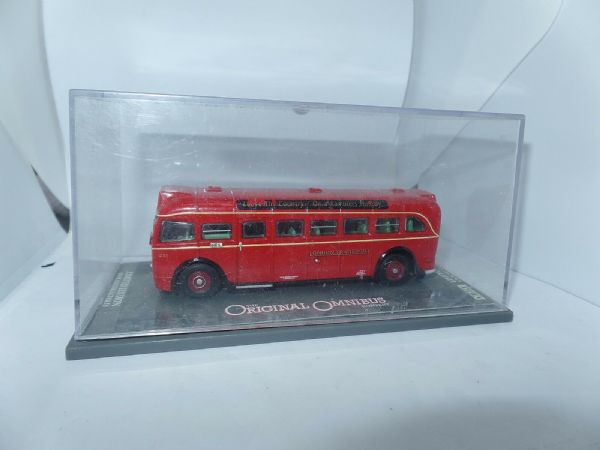 Corgi OOC 41004A AEC Q Bus London Transport Ramblers Route  Finsbury Park FAULT